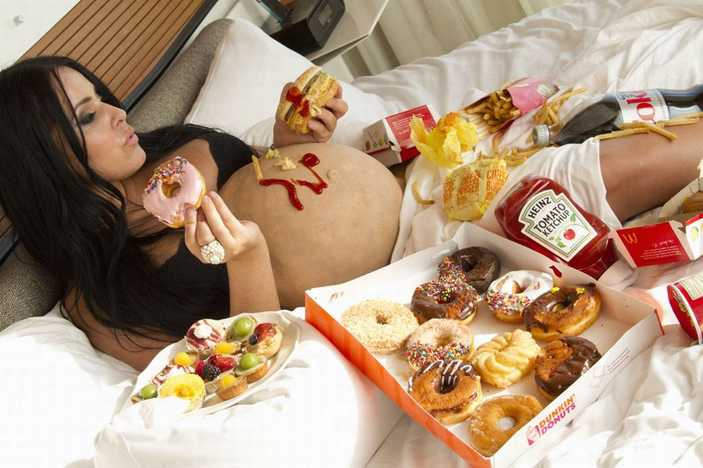 Что если не есть целый день при беременности